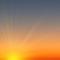 Wettergrafik für Dämmerung für Bedeckungsgrad 0/8, wolkenlos/klar
