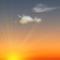 Wettergrafik für Dämmerung für Bedeckungsgrad 1/8, sonnig