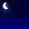 Wettergrafik für Nacht/nachts für Bedeckungsgrad 0/8, wolkenlos/klar