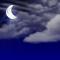 Wettergrafik für Nacht/nachts für Bedeckungsgrad 3/8, leicht bewölkt