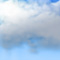 Weather graphics for daytime, for cloudage 6/8, heavily cloudy
