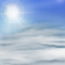 Weather graphics for daytime, for ww-Code 41 (Fog or ice fog in patches)