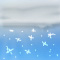 Weather graphics for daytime, for ww-Code 78 (Isolated star-like snow crystals (with or without fog))