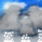 Weather graphics for daytime, for ww-Code 88 (Shower(s) of snow pellets or small hail, moderate or heavy)